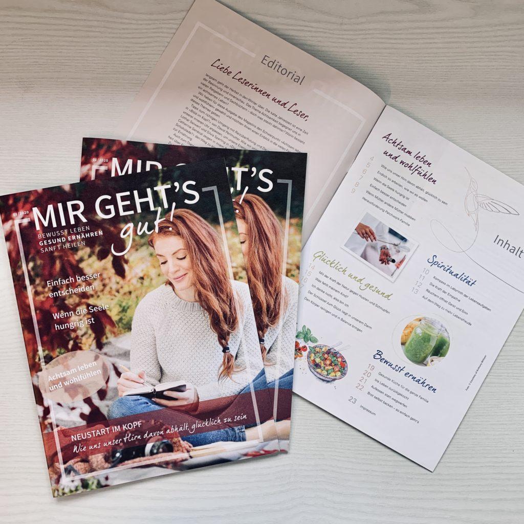 """Ohne Papier, ohne uns: Warum eine Online-Agentur das Kundenmagazin """"Mir geht's gut"""" macht."""